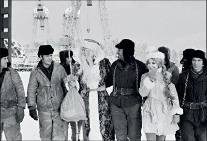 1971. Строители Усть-Илимской ГЭС, Иркутская область