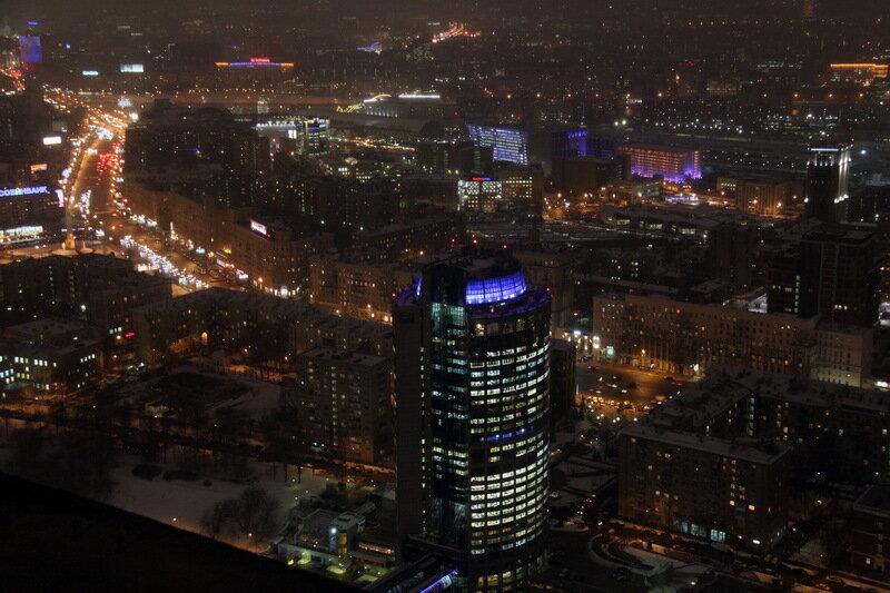 начале марта фото зимней ночной москвы с крыши короткой длины