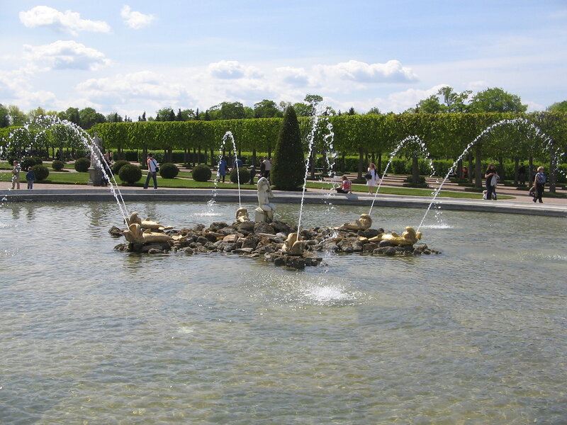 Fountain of Neptune, Peterhof Palace