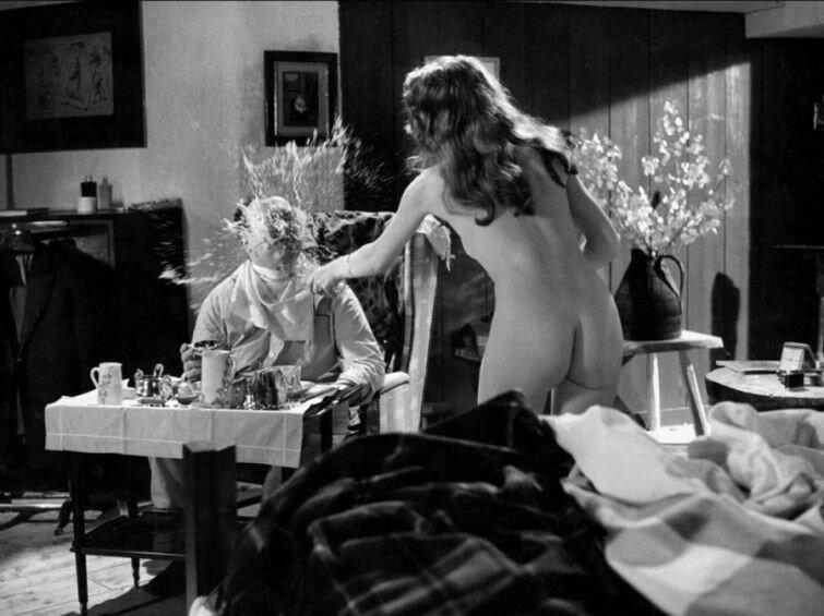 Бриджит Бардо на съемках фильма Пожалуйста, не сейчас, 1961 год.jpg