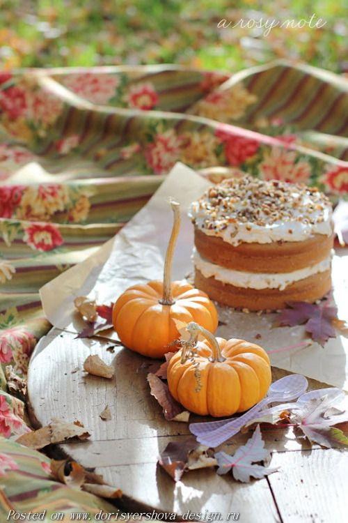 тыквы и торт