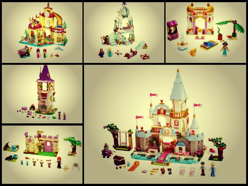 лего принцессы