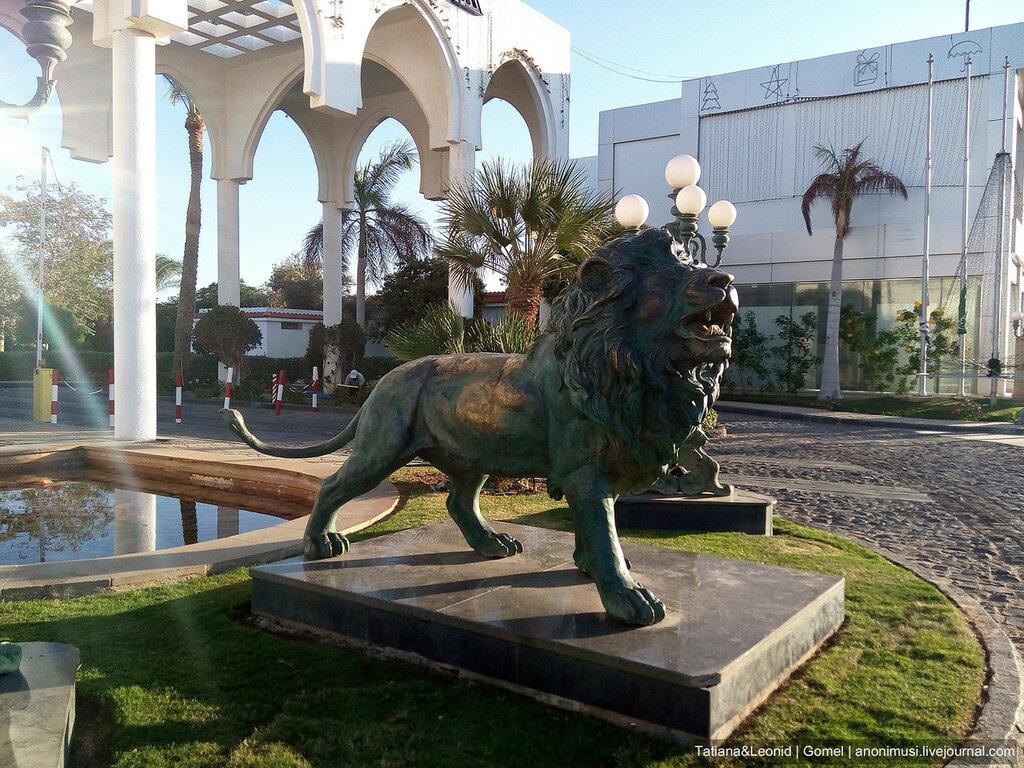 Площадь Сохо в Шарм-эль-Шейхе. Египет