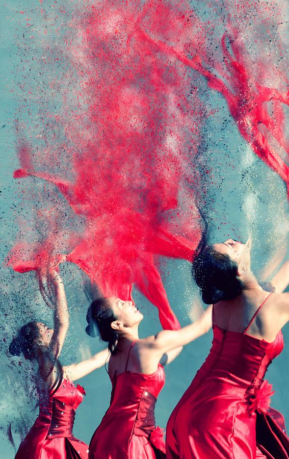 Раствориться движении… Танцоры в объективе Пистола Уиша (Pistol Wish)