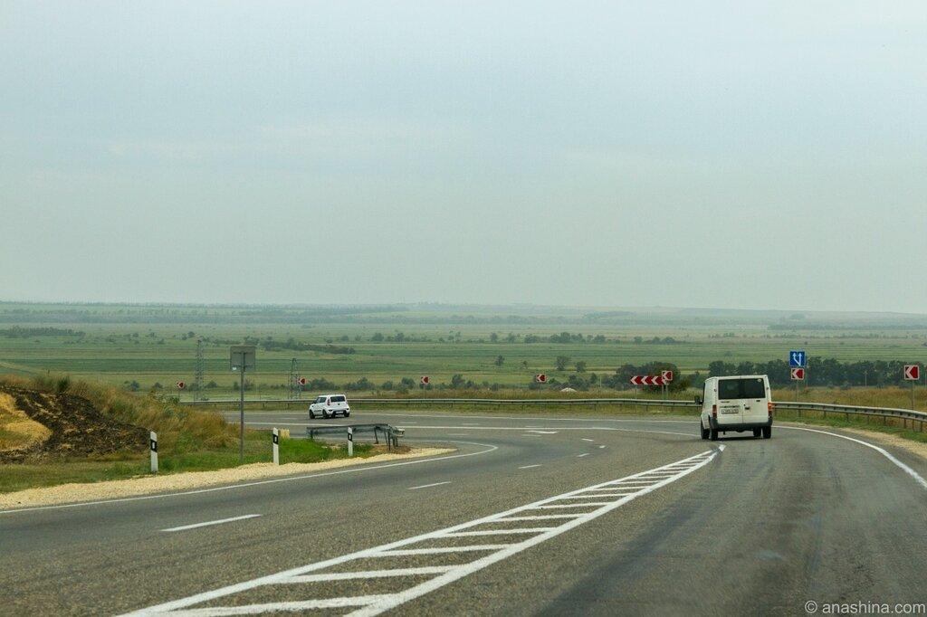 Степи, Таманский полуостров