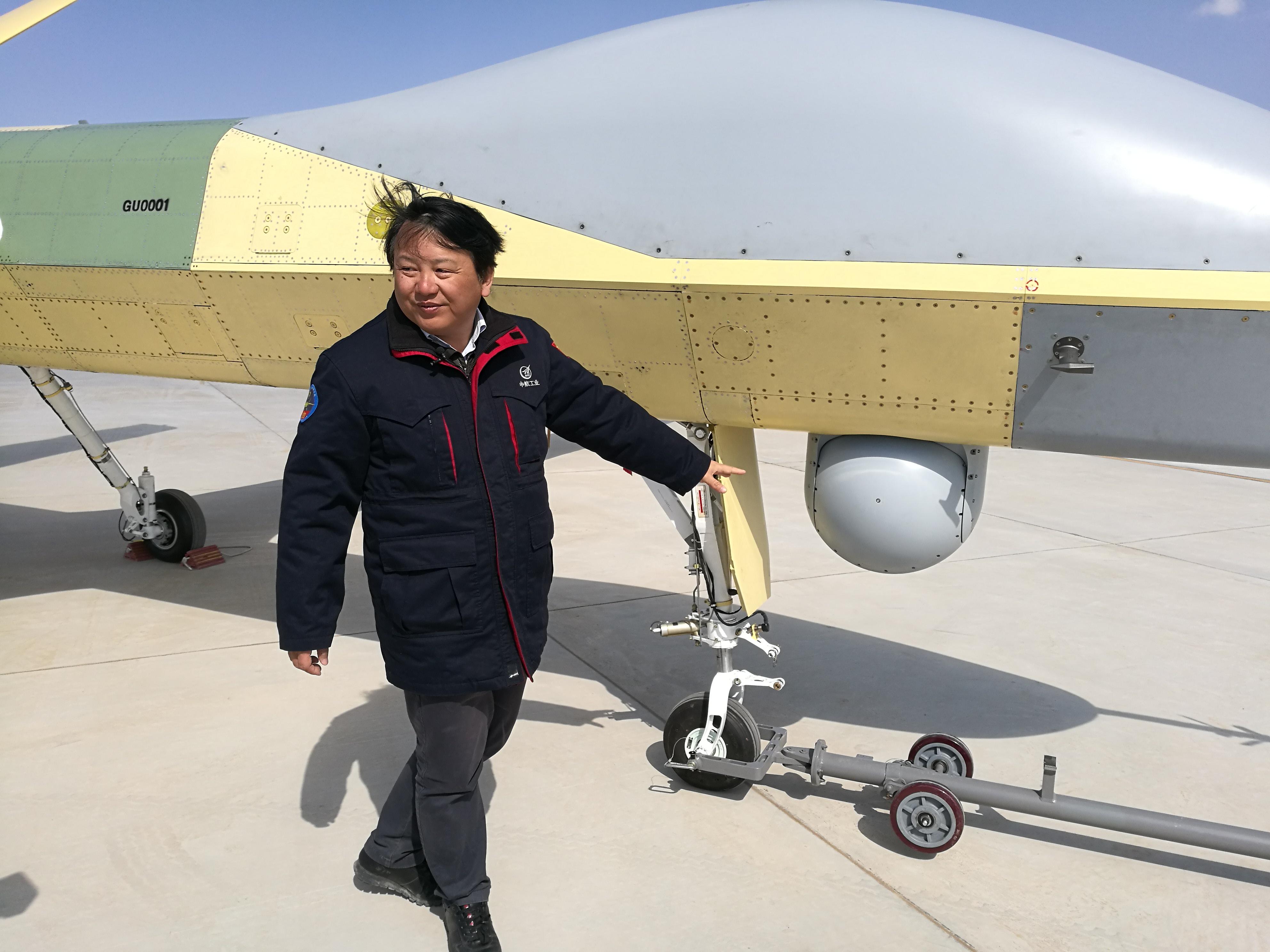 Первый полет нового китайского беспилотного летательного аппарата Pterodactyl II