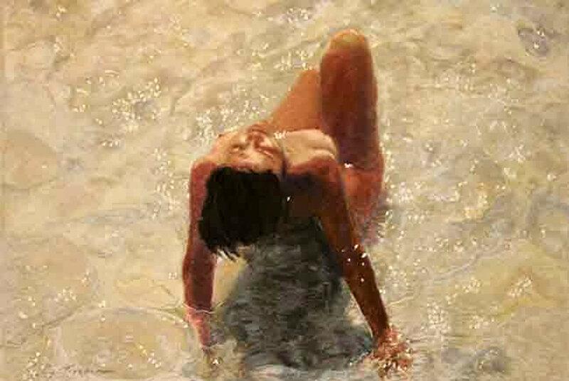 Море волнуется, манит к себе, нас обнимает нежно! Салли Трумэн (Sally Trueman)