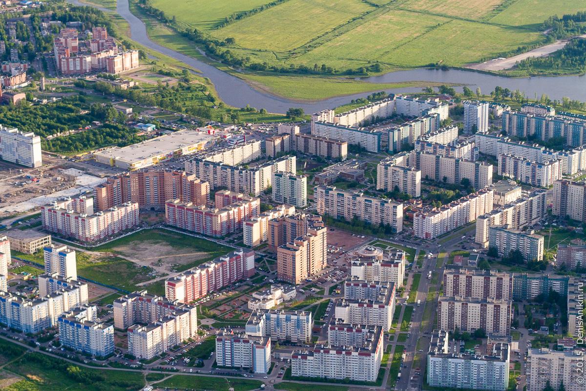 Полёт Саратов - Санкт-Петербург 23