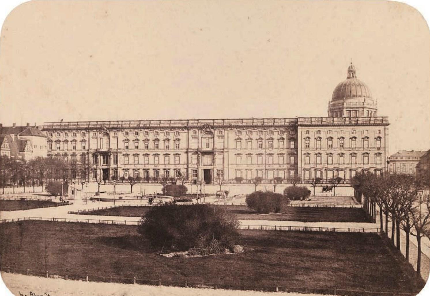 1856. Вид из Люстгартена