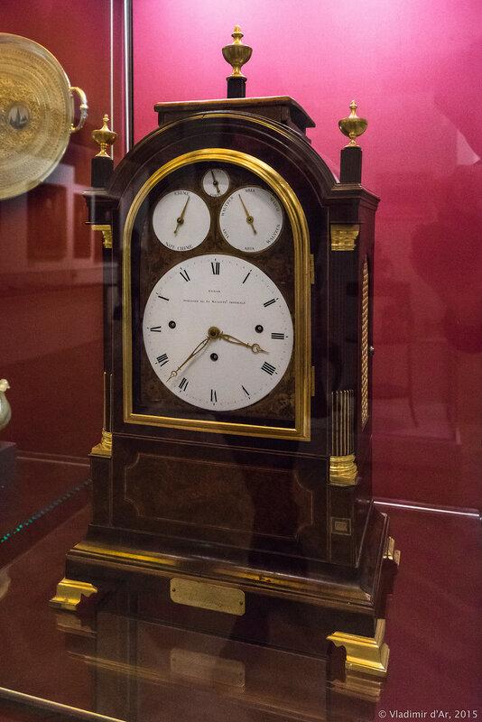 Часы консольные. Санкт-Петербург. Первая треть XIX века. Бенджамин Гайнам (Хинам).