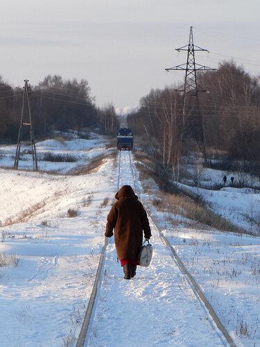 Бабушка идет в Чулково