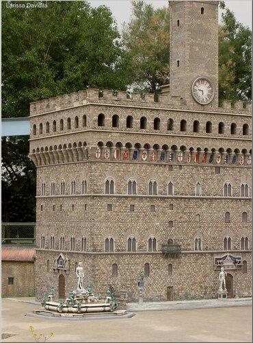 Макет Палаццо Веккьо,Флоренция.