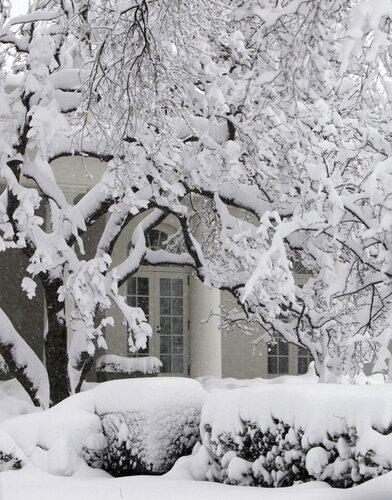 Снегопад в Америке