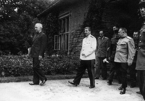 Сталин в Потсдаме