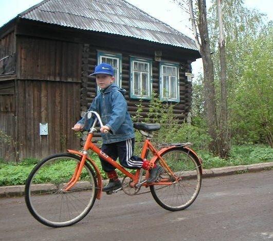 Салют - неубиваемый советский велосипед