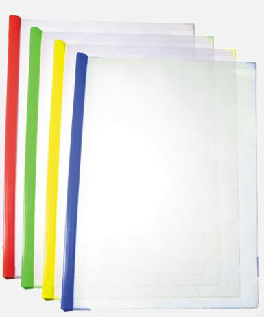 папка с боковым зажимом