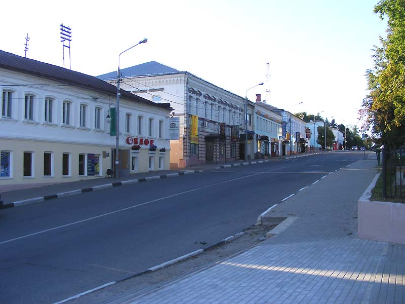 Руза, улица Солнцева