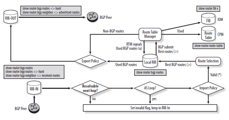 Nokia (Alcatel-Lucent) BGP configuration tutorial  Part 2