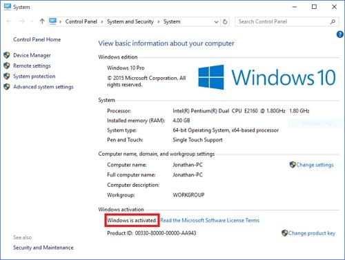 У владельцев пиратских версий Windows сохранилась активация после обновления до Windows 10