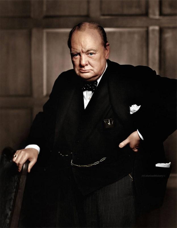 Уинстон Черчилль, 1941 год.