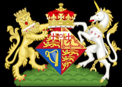 Coat of Arms of Elizabeth, Heiress Presumptive (1944-1947)
