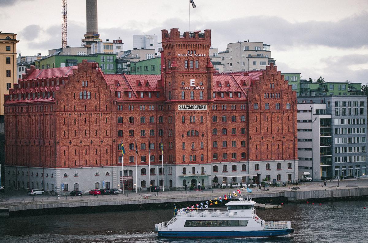 Пригород Стокгольма, В Стокгольм на пароме, круизы в Стокгольм