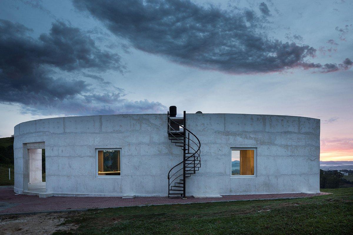 Boa Arquitetura, картинки шикарных домов, HLM House, шикарные дома мира, дом с красивым видом из окон, дом с панорамой из окон, красивый дом в бразилии