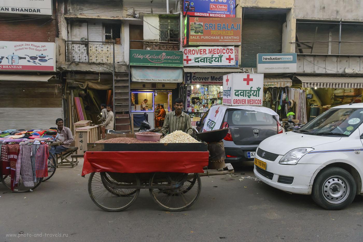 Фотография 18. Рассказ о приключениях в Дели. Улица Мейн Базар. 1/400, -0.33, 4.5, 4000, 24.