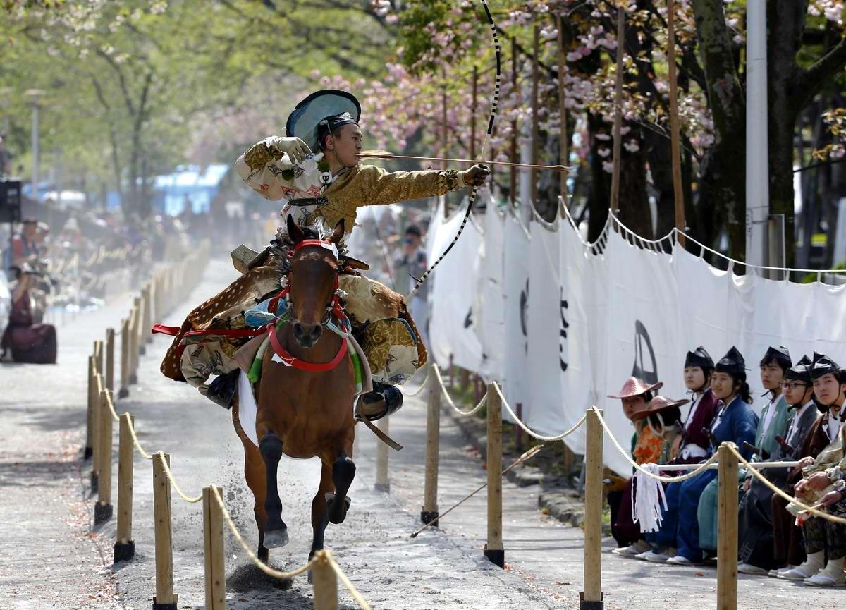 Стреляем из лука на полном скаку: Потомки японских самураев (1)