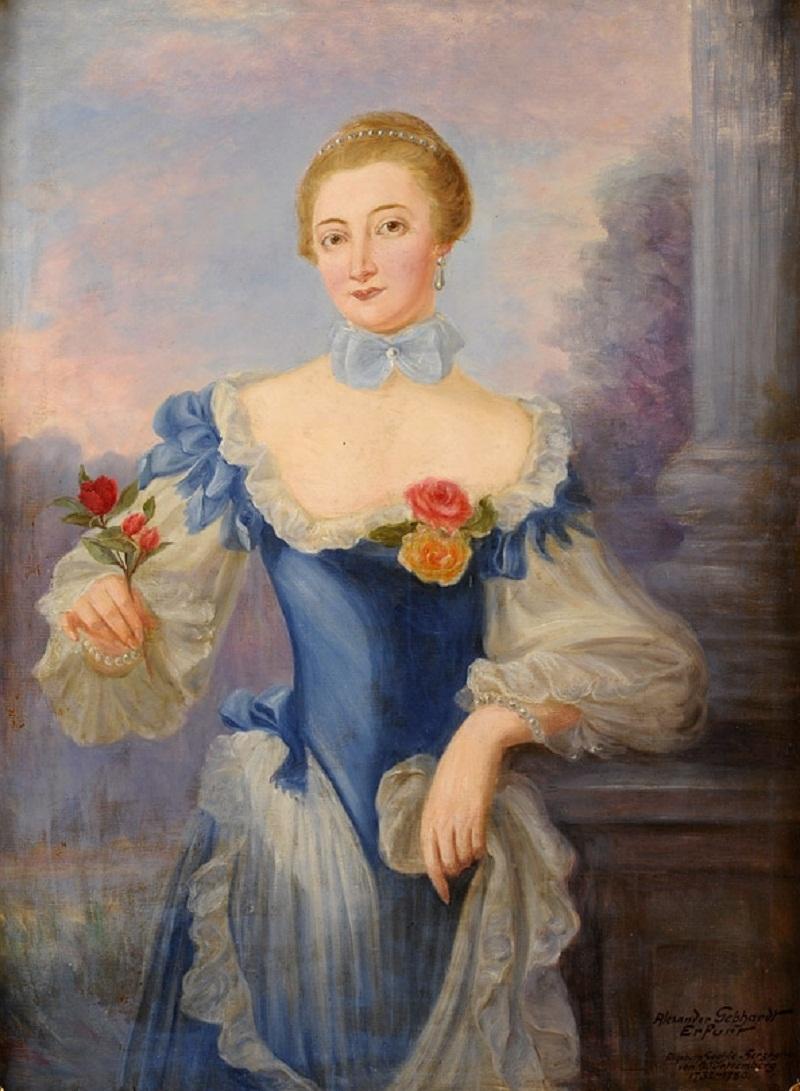 Gebhardt, Alexander 1869 - 1958 Elisabeth Sophie, Herzogin von Württemberg.