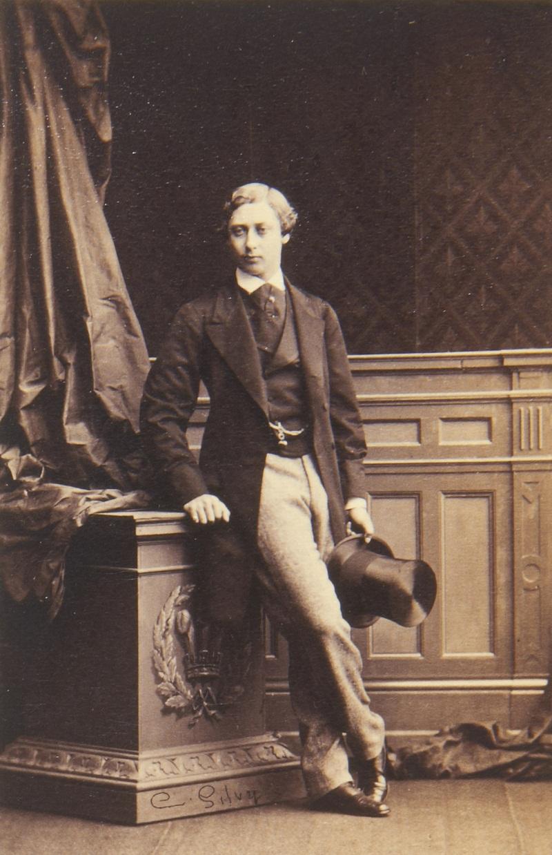 Король Эдуард VII (1841-1910), когда Альберт Эдуард, принц Уэльский  +1861