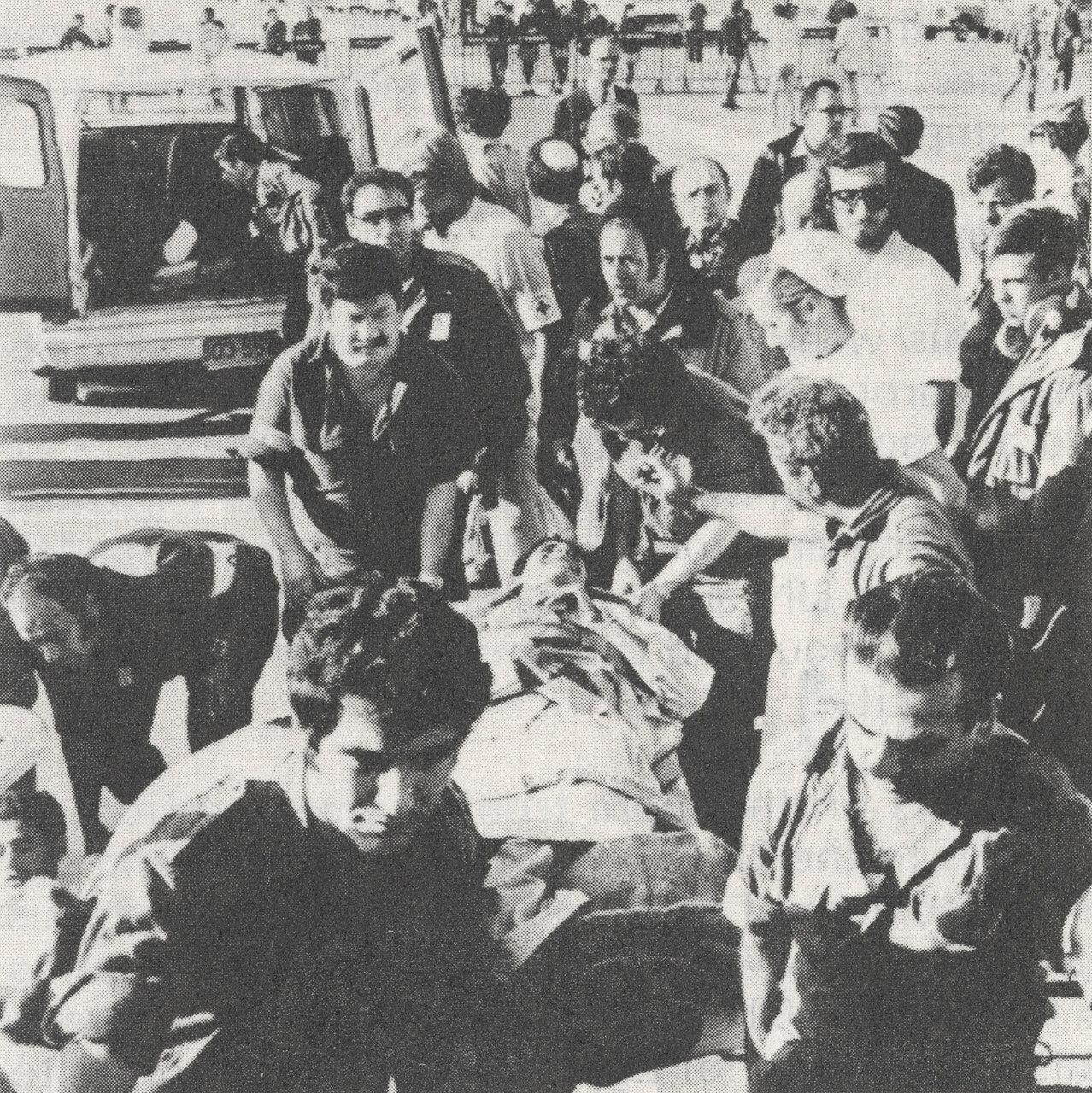 Египетские военнопленные возвращаются домой после арабо-израильской войны