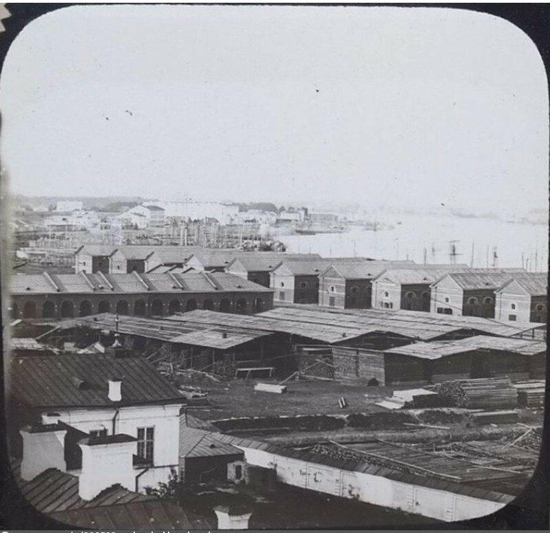 Хлебные склады на Калашниковской набережной