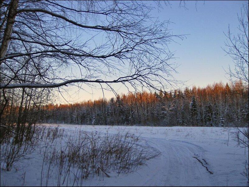 Выезжая на Закрытую поляну