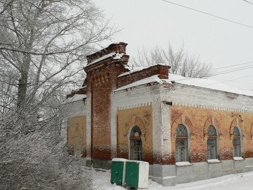 Фасад вокзала ст. Ясаково