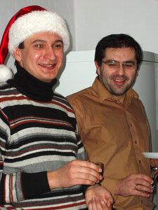 С соседом из IMTC-MEI, Олегом