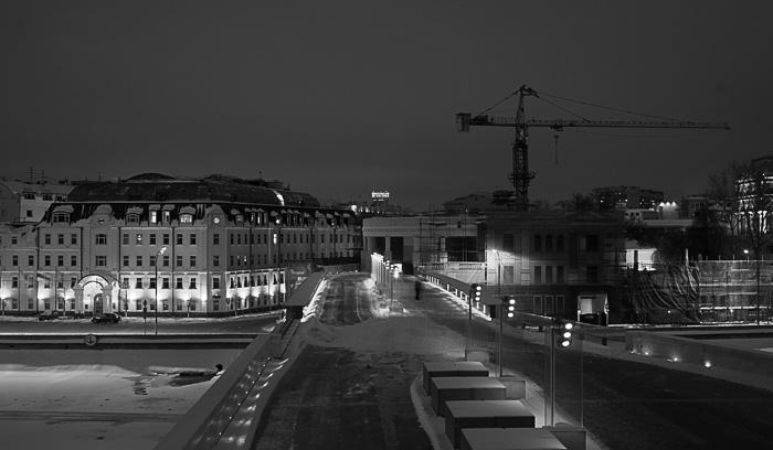 фотографии ночного города. Москва