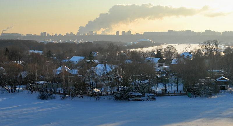 Ликвидация поселка 'Речник' в Москве