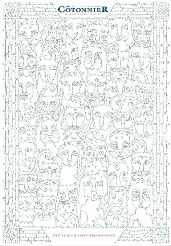 Схемы вышивки на одеяло