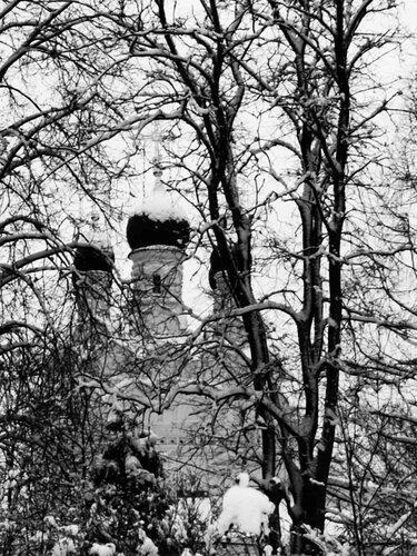 Сергиевская церковь в Комягино