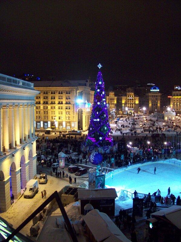 Главная елка Киева 2010