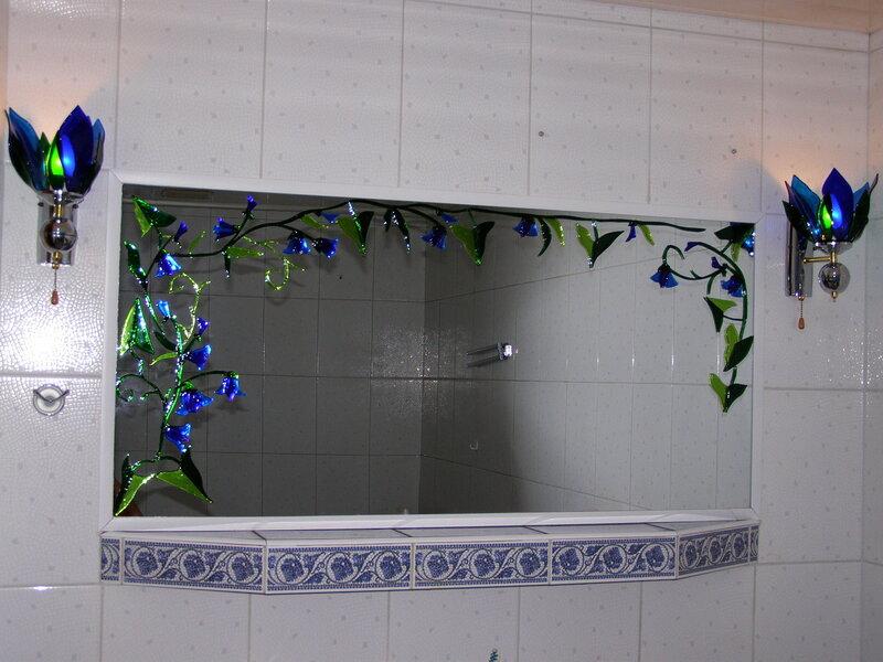 Украшаем ванную своими руками