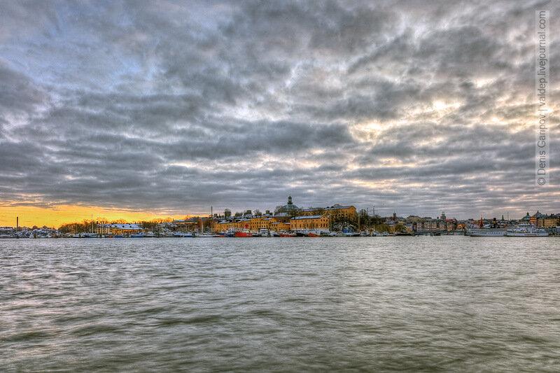 зима, закат, Юргорден, Стокгольм, Швеция, фото, Djurgården, Stockholm, Sweden, photo, winter, sunset, источник: http://valdep.livejournal.com