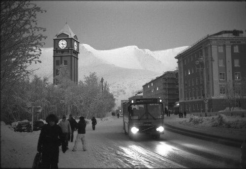 Кировск. Январь 2010.