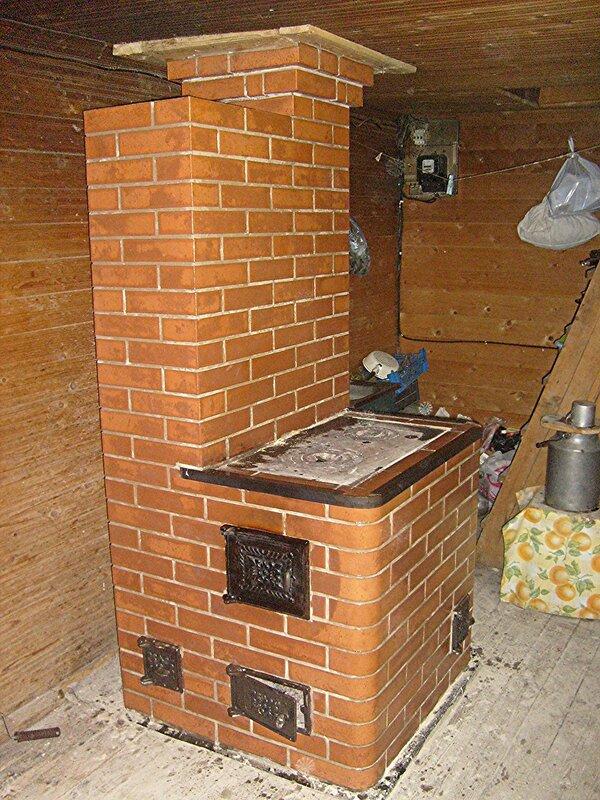 Варочно отопительная печь для дома из кирпича