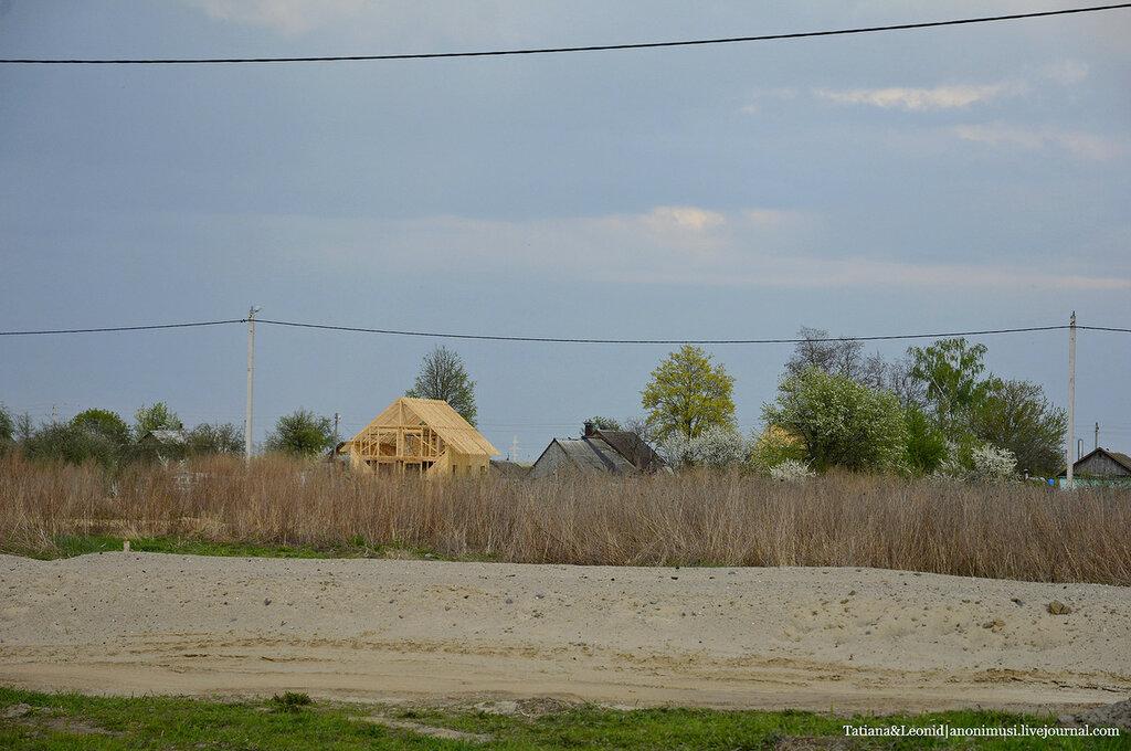 Строительство дома в Бобовичах. Фундамент