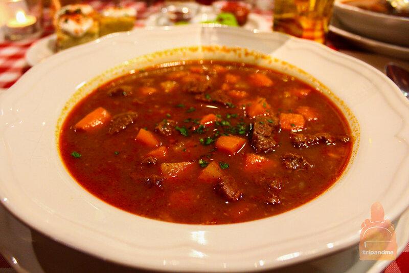 Будапешт - рестораны венгерской кухни