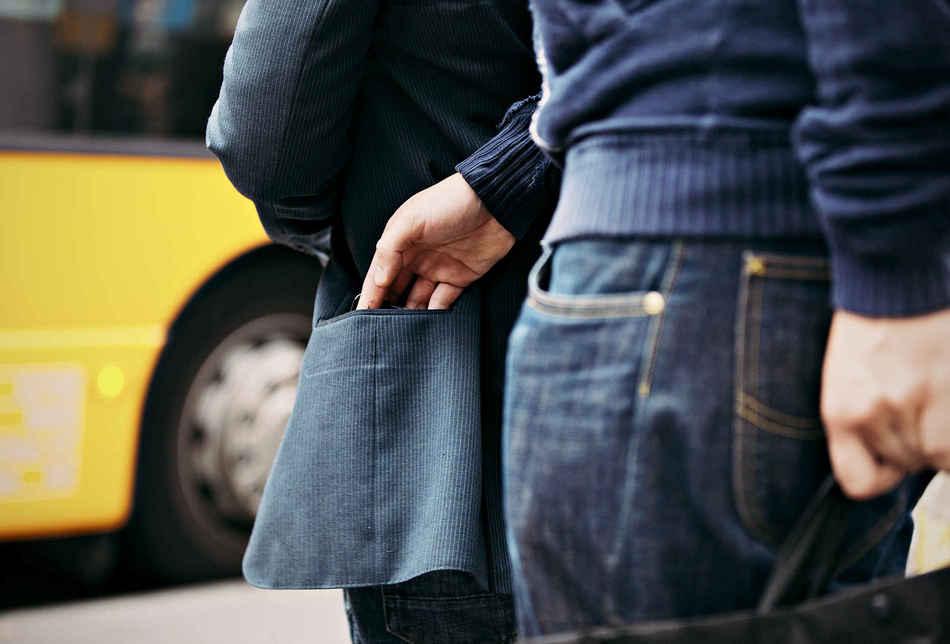 Шаг 1: Все дело в местоположении. Первое препятствие, которое должен преодолеть карманник — это личн