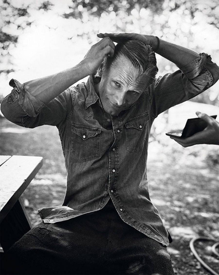 Арагорн нашей жизни — американский актер Вигго Мортенсен.