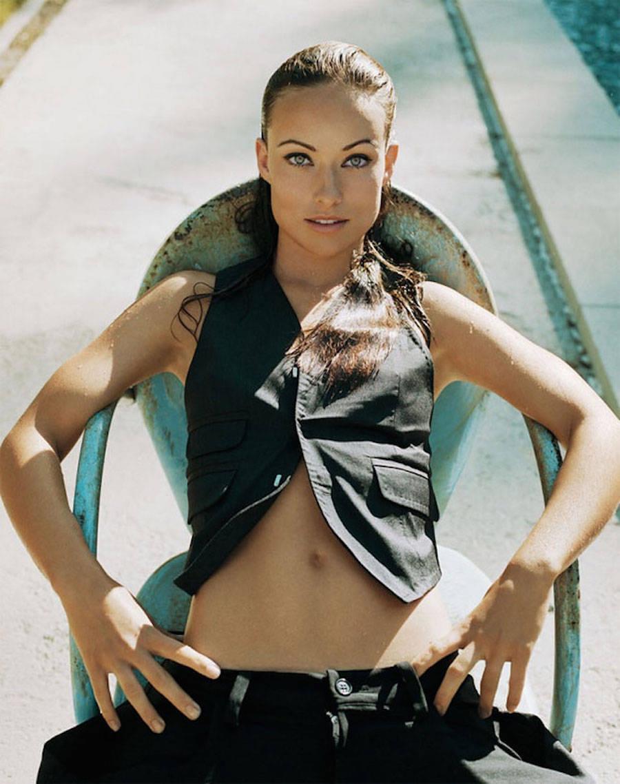 Актриса Оливия Уайлд в съемке для журнала GQ.